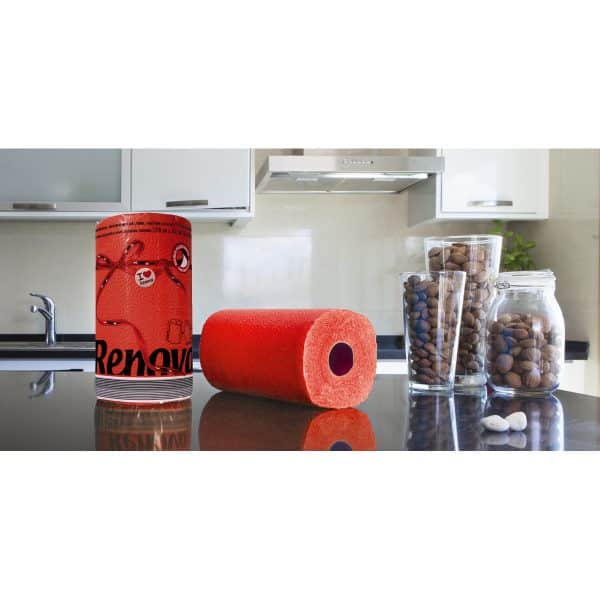 Luxury Colored Paper Towel Jumbo Rolls 2-Ply-120 Sheets
