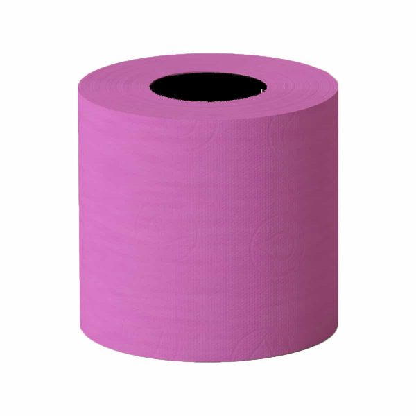 Luxury Scented Colored Toilet Paper 6 Rolls 3-Ply Bath Tissue