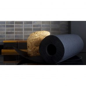 Luxury Colored Paper Towel Roll 2-Ply-120 Sheets Black